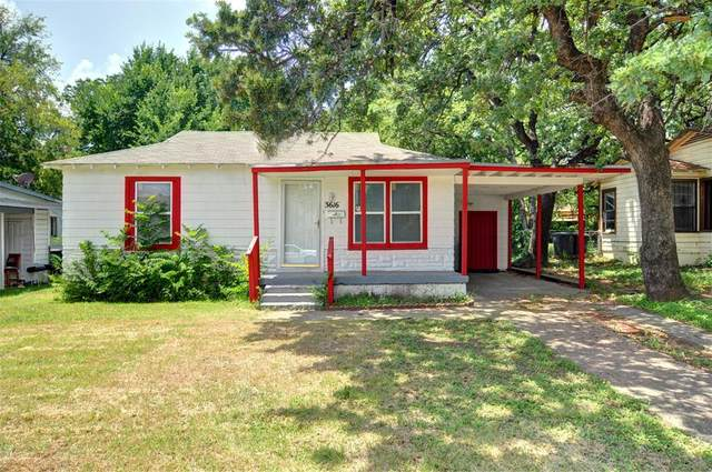 3616 Rufus Street, Fort Worth, TX 76119 (MLS #14629172) :: Real Estate By Design