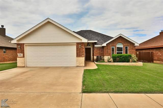 4718 Big Bend Trail, Abilene, TX 79602 (MLS #14629277) :: 1st Choice Realty