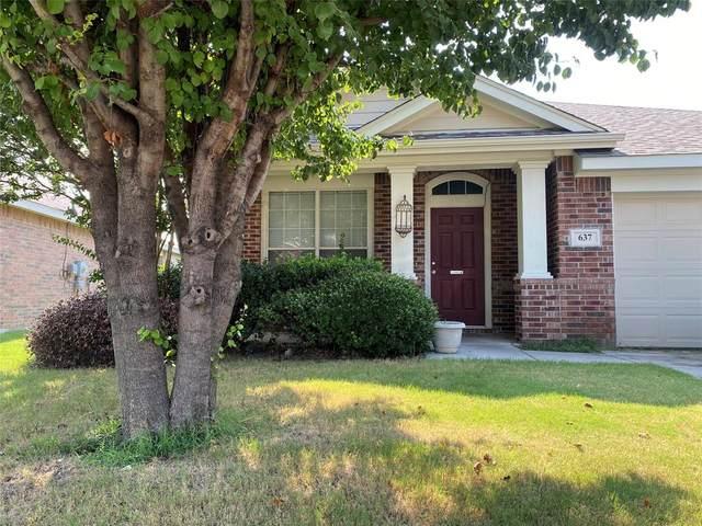 637 Chalk Knoll Road, Fort Worth, TX 76108 (MLS #14630233) :: The Daniel Team
