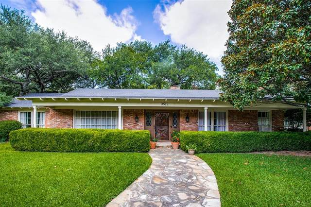 3512 Overton Park Drive W, Fort Worth, TX 76109 (MLS #14630290) :: Real Estate By Design