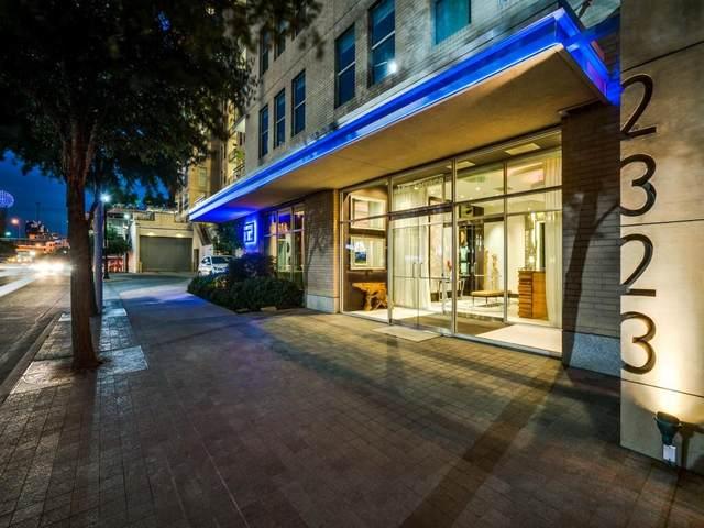 2323 N Houston Street #704, Dallas, TX 75219 (MLS #14630459) :: RE/MAX Pinnacle Group REALTORS