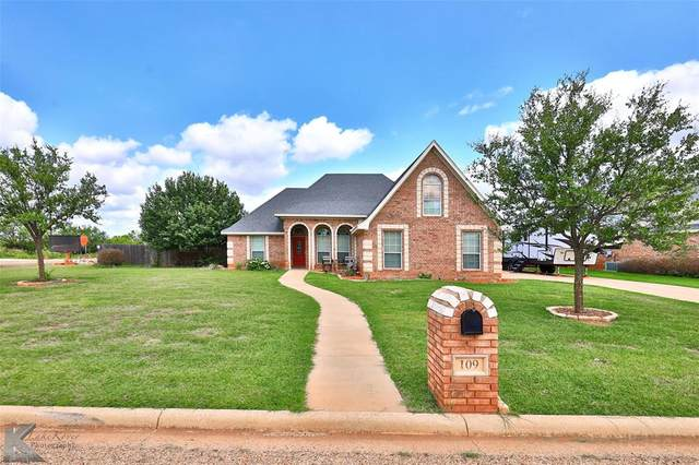 109 Browning Road, Tuscola, TX 79562 (MLS #14630502) :: 1st Choice Realty