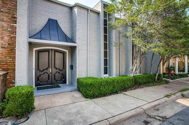 3805 S Versailles Avenue, Dallas, TX 75209 (MLS #14630611) :: Real Estate By Design
