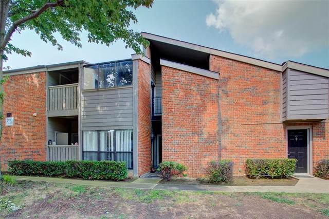 2110 Randy Snow Road #312, Arlington, TX 76011 (MLS #14630615) :: Real Estate By Design
