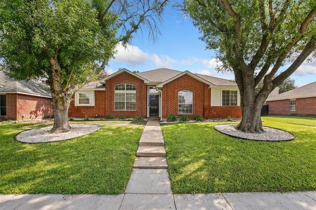 5932 Madison Drive, The Colony, TX 75056 (MLS #14630623) :: Real Estate By Design