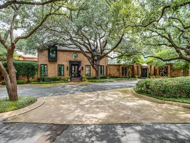 8828 Mccraw Drive, Dallas, TX 75209 (MLS #14630684) :: Real Estate By Design
