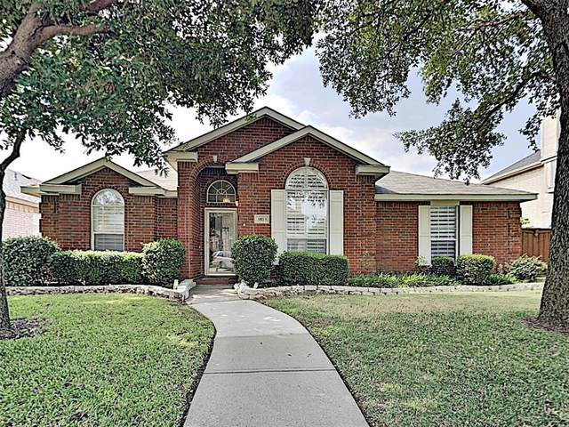 3813 Red Oak Trail, The Colony, TX 75056 (MLS #14630776) :: 1st Choice Realty
