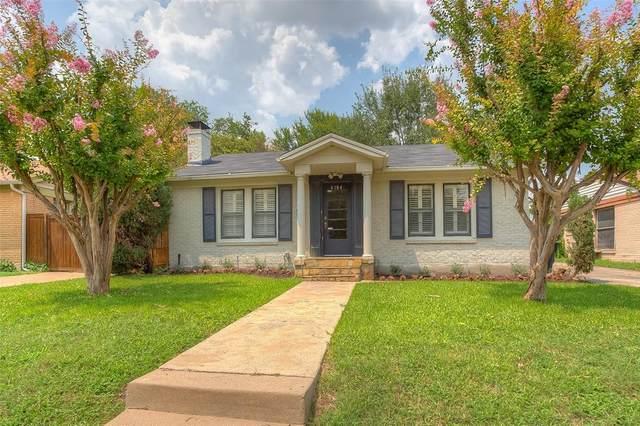 4104 Birchman Avenue, Fort Worth, TX 76107 (MLS #14630858) :: 1st Choice Realty