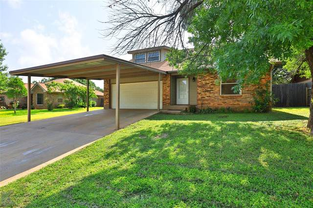 1649 Covey Lane, Abilene, TX 79605 (MLS #14630887) :: The Krissy Mireles Team