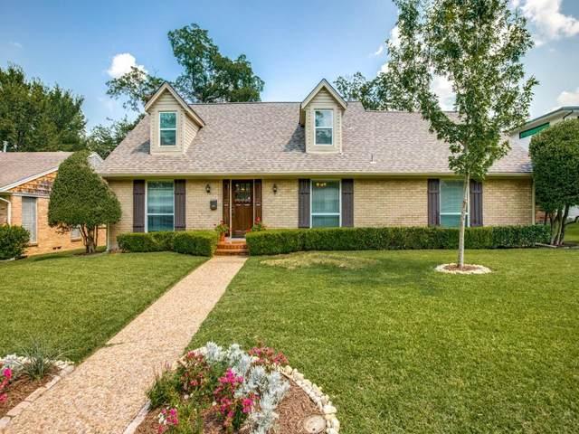 7012 Wakefield Street, Dallas, TX 75231 (MLS #14631021) :: Real Estate By Design