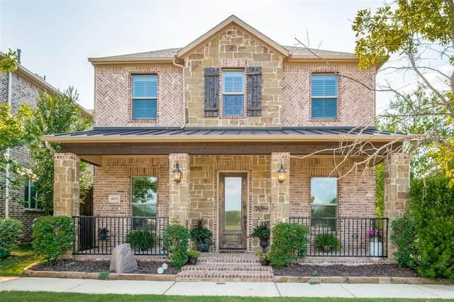 4433 Villa Drive, Flower Mound, TX 75028 (MLS #14631034) :: Real Estate By Design