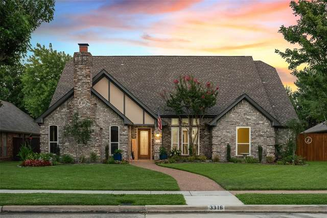 3316 Eisenhower Lane, Plano, TX 75023 (MLS #14631243) :: 1st Choice Realty