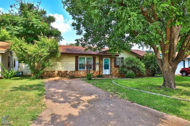 2489 Glendale Drive, Abilene, TX 79603 (MLS #14631244) :: Maegan Brest | Keller Williams Realty