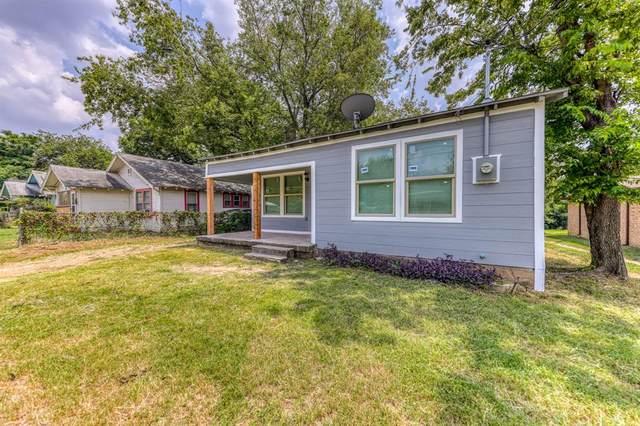 2816 Van Horn Avenue, Fort Worth, TX 76111 (MLS #14631447) :: Real Estate By Design