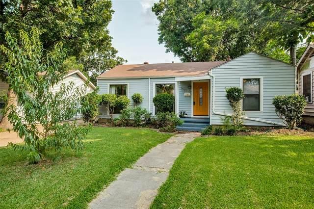 3502 Ivandell Avenue, Dallas, TX 75211 (MLS #14631600) :: The Kimberly Davis Group