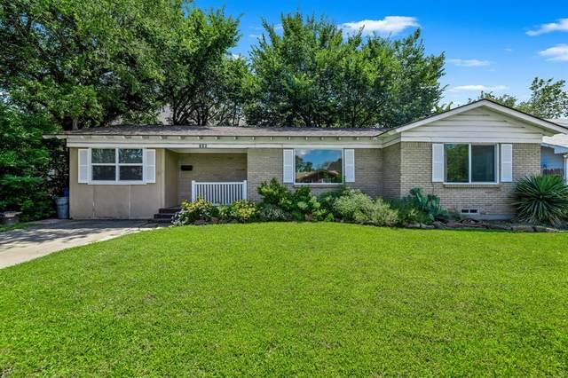 206 S Hatcher Street, Lewisville, TX 75057 (MLS #14631709) :: Real Estate By Design
