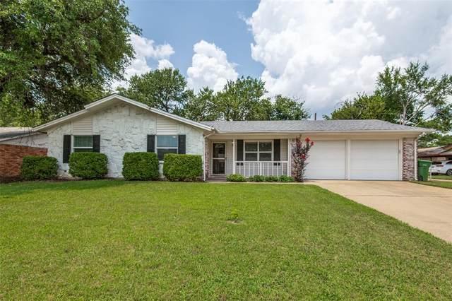 1417 Simpson Drive, Hurst, TX 76053 (MLS #14631882) :: RE/MAX Pinnacle Group REALTORS