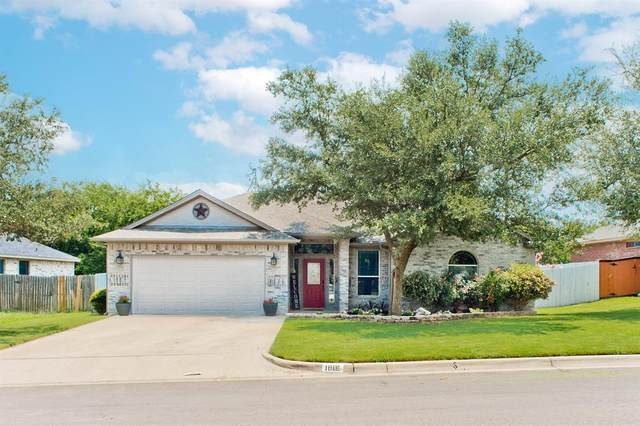 1818 Sandpiper Drive, Weatherford, TX 76088 (MLS #14631933) :: Real Estate By Design