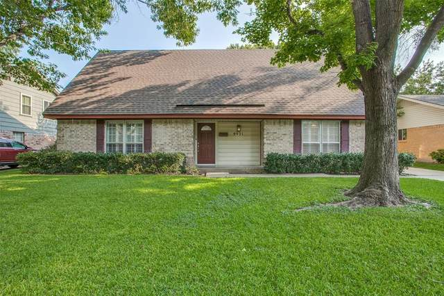 9921 Greenfield Drive, Dallas, TX 75238 (MLS #14631939) :: The Property Guys