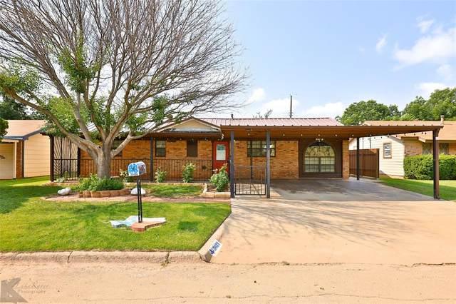 3681 Janice Lane, Abilene, TX 79603 (MLS #14632006) :: Real Estate By Design