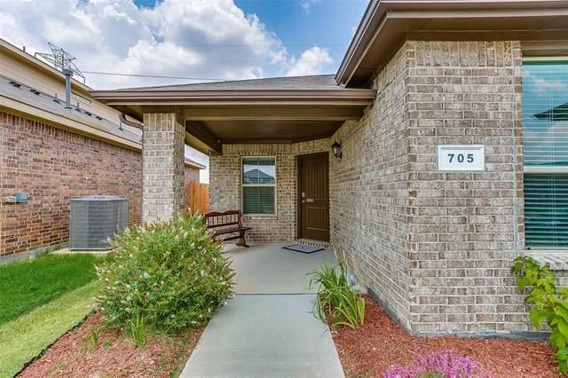 705 Watson Way, Crowley, TX 76036 (MLS #14632106) :: Real Estate By Design