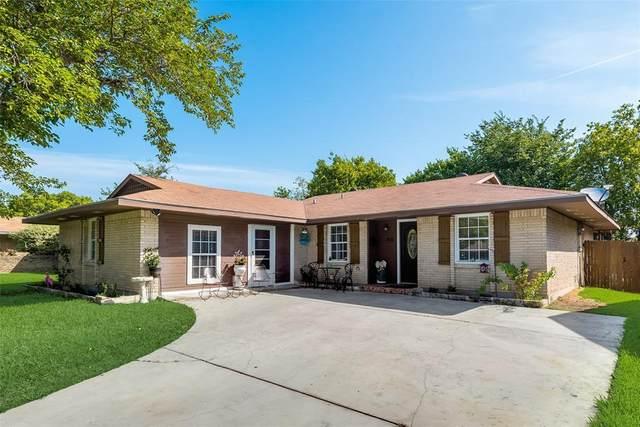 814 Hudson Drive, Garland, TX 75043 (MLS #14632290) :: The Krissy Mireles Team