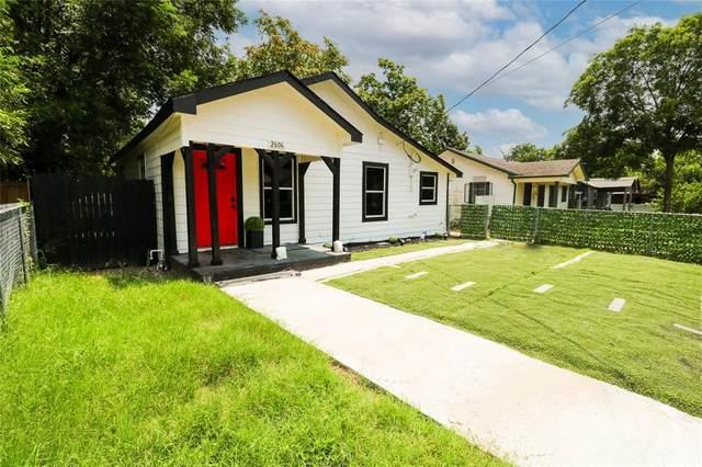 2606 Lobdell Street, Dallas, TX 75215 (MLS #14632329) :: Real Estate By Design