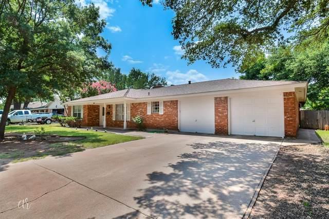 3733 Ligustrum Drive, Abilene, TX 79605 (MLS #14632335) :: Real Estate By Design