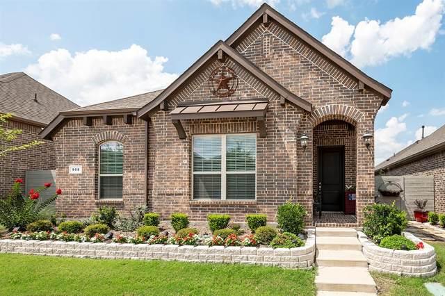 908 10th Street, Argyle, TX 76226 (MLS #14632449) :: Real Estate By Design