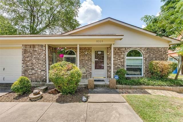 8309 Redonda Street, White Settlement, TX 76108 (MLS #14632584) :: Rafter H Realty