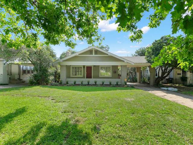 2017 Ashland Avenue, Fort Worth, TX 76107 (MLS #14632811) :: Real Estate By Design