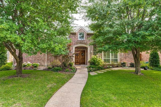 4911 Corinthian Bay Drive, Frisco, TX 75034 (MLS #14632835) :: The Hornburg Real Estate Group