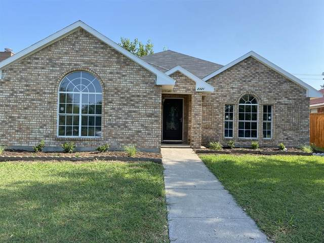 2321 Park Vista Drive, Dallas, TX 75228 (MLS #14633002) :: The Mauelshagen Group