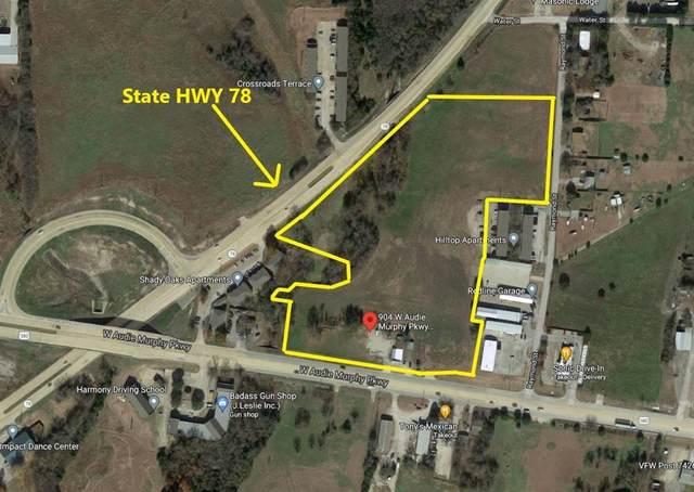 904 W Audie Murphy Parkway, Farmersville, TX 75442 (MLS #14633031) :: Real Estate By Design