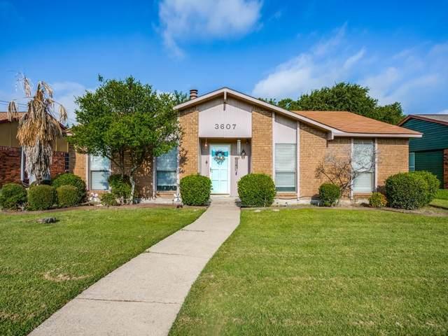 3607 Redwolf Drive, Mesquite, TX 75150 (MLS #14633070) :: RE/MAX Pinnacle Group REALTORS