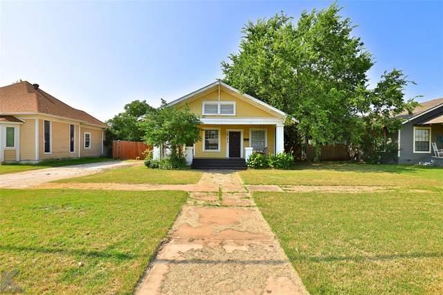 1741 N 3rd Street, Abilene, TX 79603 (MLS #14633125) :: Real Estate By Design