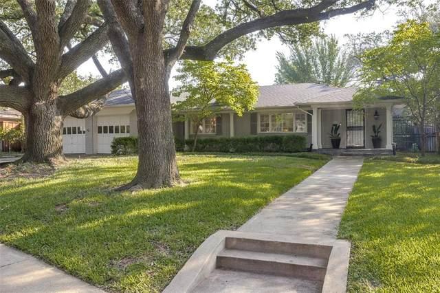 7012 Greentree Lane, Dallas, TX 75214 (MLS #14633152) :: Frankie Arthur Real Estate