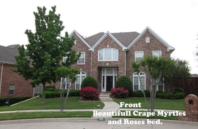 1809 Crape Myrtle Circle, Irving, TX 75063 (MLS #14633195) :: The Property Guys