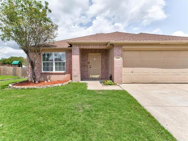 208 Lincoln Lane, Crowley, TX 76036 (MLS #14633361) :: Real Estate By Design