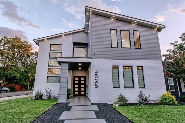 4528 W Amherst Avenue, Dallas, TX 75209 (MLS #14633447) :: Real Estate By Design