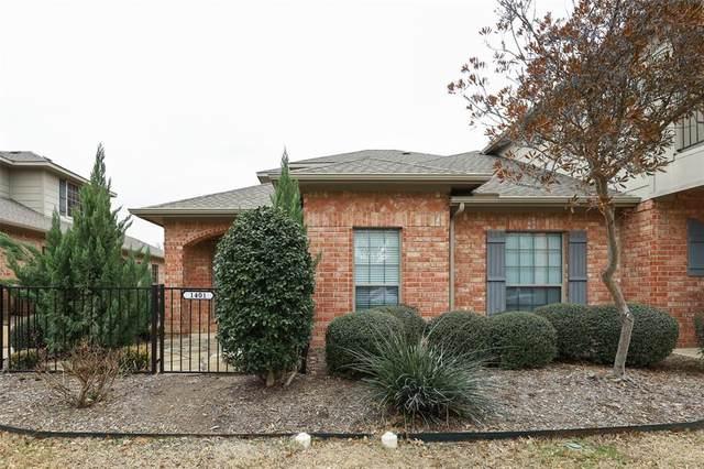 575 S Virginia Hills Drive #1401, Mckinney, TX 75072 (MLS #14633611) :: The Tierny Jordan Network