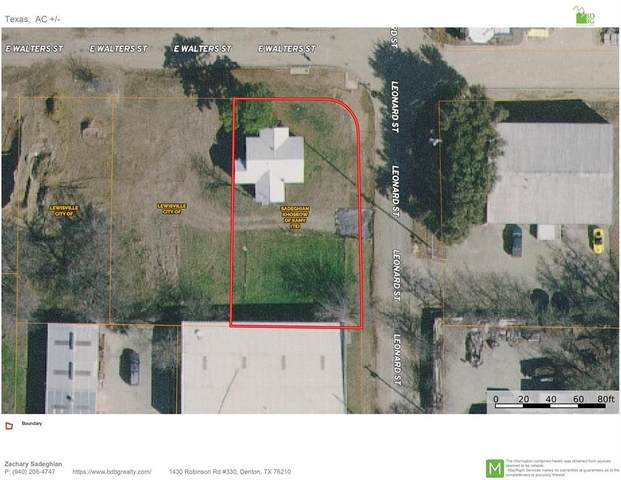 424 E Walters Street, Lewisville, TX 75057 (MLS #14633733) :: RE/MAX Pinnacle Group REALTORS