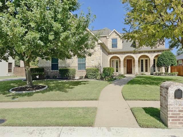 708 Braxton Court, Mckinney, TX 75071 (MLS #14633795) :: Real Estate By Design