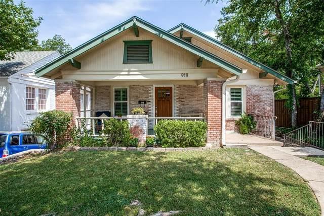 918 Lausanne Avenue, Dallas, TX 75208 (MLS #14634262) :: Real Estate By Design