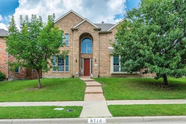 9716 Hickory Street, Frisco, TX 75035 (MLS #14634337) :: 1st Choice Realty