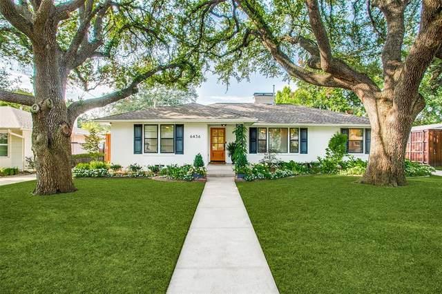6436 Glennox Lane, Dallas, TX 75214 (MLS #14634388) :: Real Estate By Design
