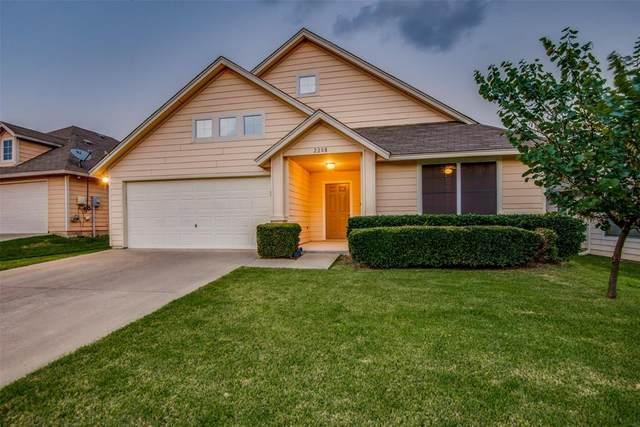 2208 Arrowhead Drive, Denton, TX 76207 (MLS #14634398) :: Real Estate By Design