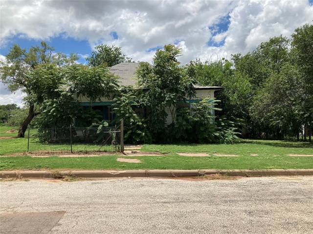 608 Bowie Street, Sweetwater, TX 79556 (MLS #14634567) :: Texas Lifestyles Group at Keller Williams Realty