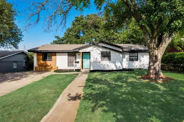 2436 Avis Street, Mesquite, TX 75149 (MLS #14634588) :: Real Estate By Design