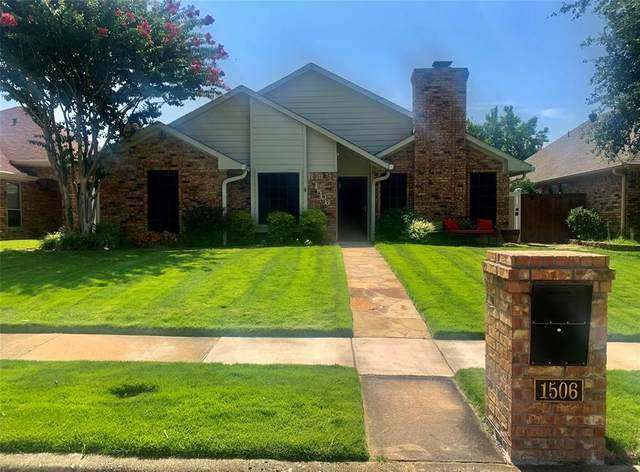 1506 Raleigh Drive, Carrollton, TX 75007 (MLS #14634603) :: The Tierny Jordan Network